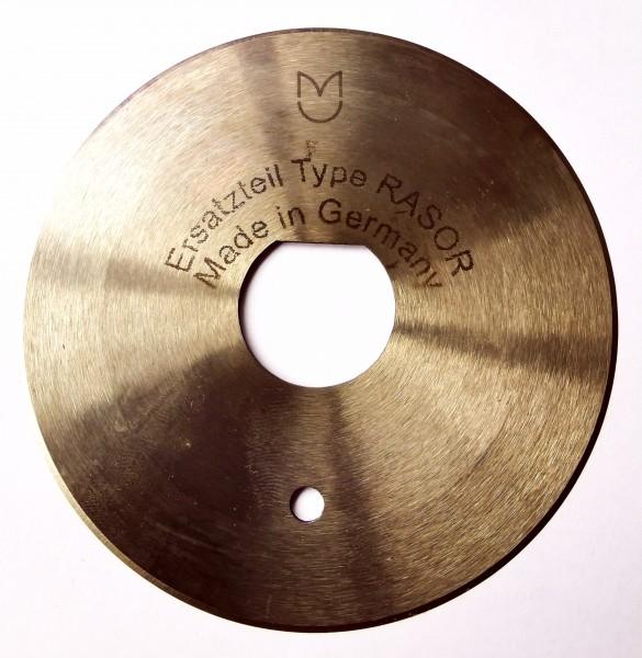 Kreismesser Rasor 86mm, rund