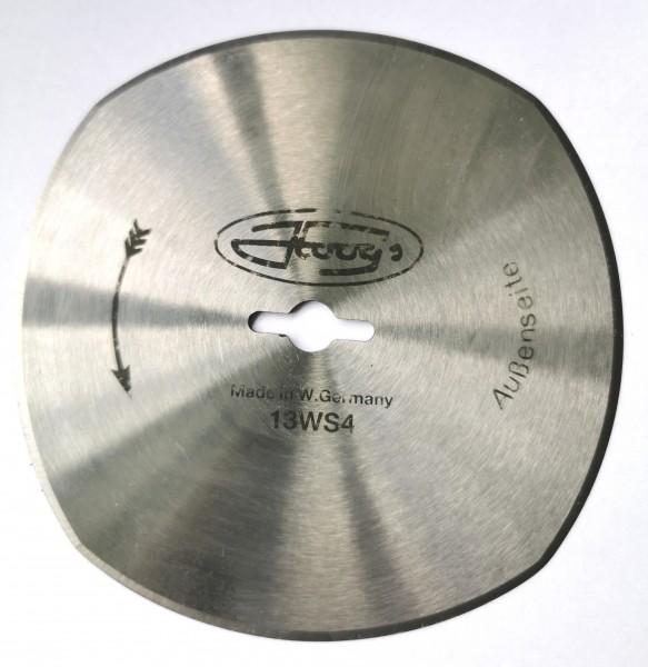 Kreismesser Hoogs 130mm, 4-Bogen