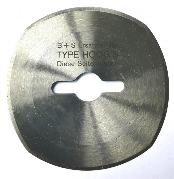 Kreismesser Hoogs 60mm, 4-Bogen
