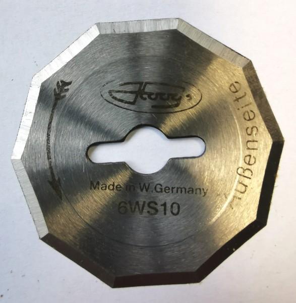 Kreismesser Hoogs 60mm, 10-kant