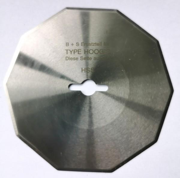 Kreismesser Hoogs 110mm, 10-kant