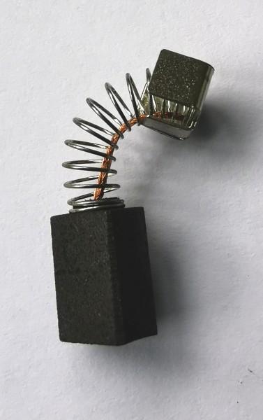 Kohlebürste 5x8x10mm mit Kabel, Feder und Bügel