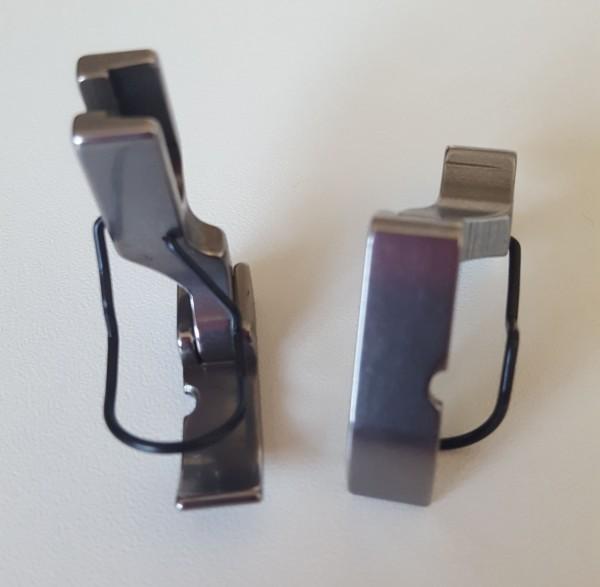 Reißverschluss-Gelenkfuß, links frei, für Normaltransport-Industrieschnellnäher