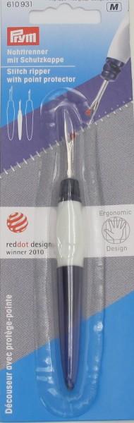 Nahttrenner ergonomic, klein, mit Schutzkappe