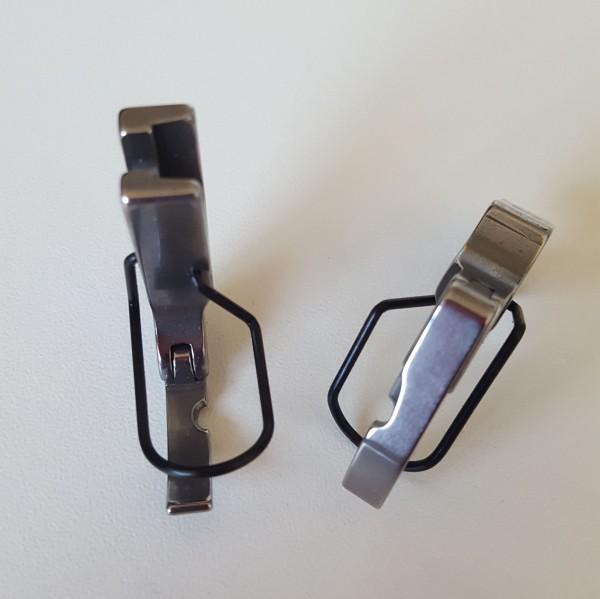 Reißverschluss-Gelenkfuß, rechts frei für Industrieschnellnäher mit Normaluntertransport