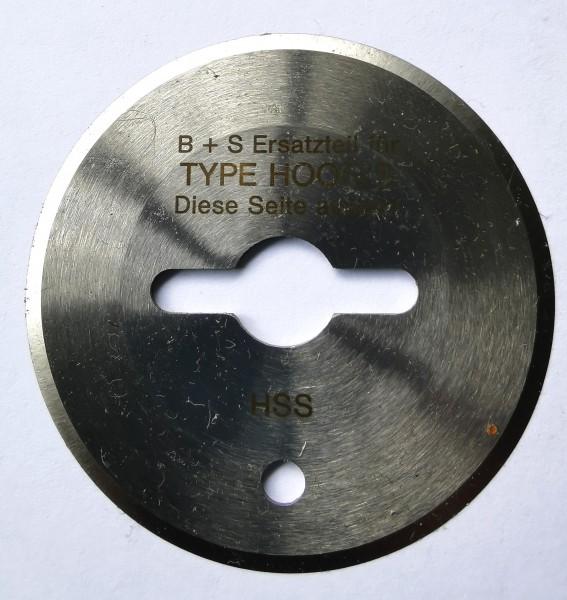 Kreismesser Hoogs 50mm, rund