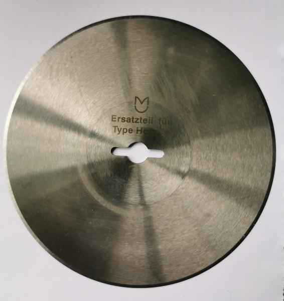 Kreismesser Hoogs 130mm, rund