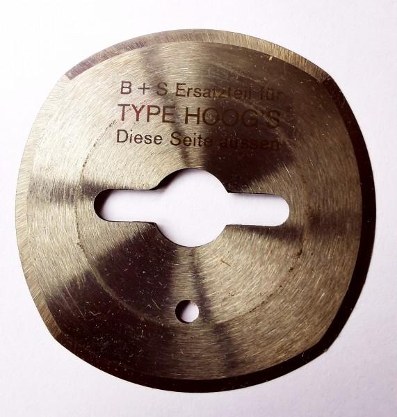 Kreismesser Hoogs 50mm, 4-Bogen