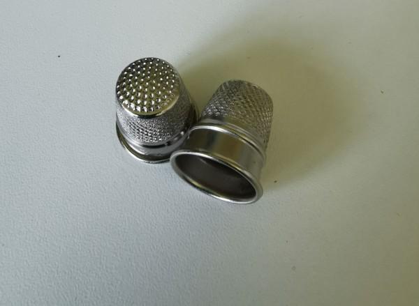 Fingerhut, Metall